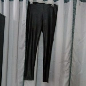 Jeans by buffalo leather leggins..
